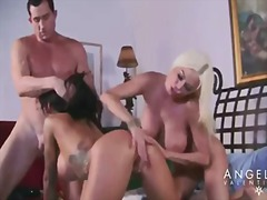 Angelina valentine & nikita von james - threesome