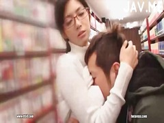 See: Busty librarian gets t...