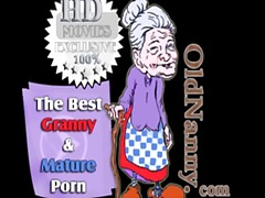 threesome, granny, old, young, toys,