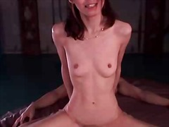 Slutty babe facialized... video