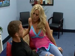 Busty milf amber lynn ... video