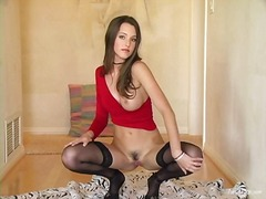 Ah-Me Movie:Brunette erica ellyson plays h...