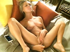 Mad Chloe Masturbating...