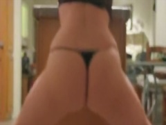 Private Home Clips Movie:Curvy hottie performs a booty ...