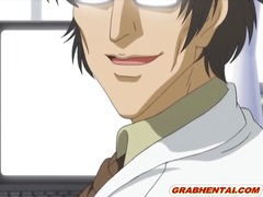 Virgin hentai coed bigboobs riding doctor cock
