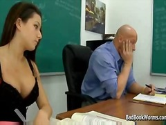 Schoolgirl slut gives ...
