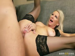 emma starr, blonde, shaved, milf