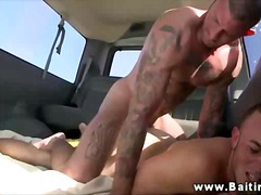Crazy fuck in the car - 06:04