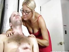 Hot blonde babe gets b... preview