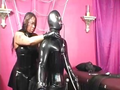 Sun Porno Movie:Latex fetish black woman