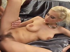Hairy pussy cream pie ... video