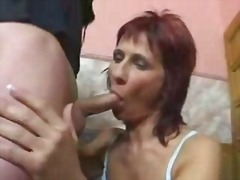 My mom fucked in her pussy and ass by...