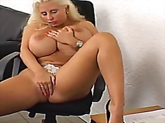 straight, masturbation, big, boobs, milf