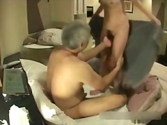 Hidden livecam old jap... video