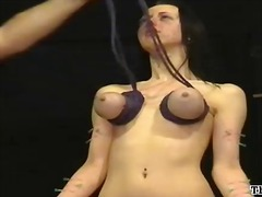 domination, nasty, slave, girls, hang, video, bondage, pain, movies, emily, bdsm, piercing, scene, extreme, punishment, humiliation, discipline, tits, slavery