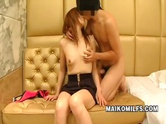 Sex starved japanese m...