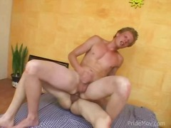 Studs copulating in a condom - 05:44