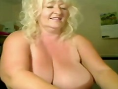 naked, big, granny, boobs, horny