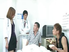 This doctor likes her pussy petting