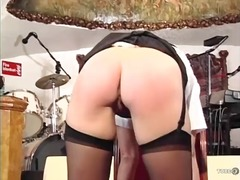 naughty, bdsm, uniform, kinky, euro, skinny, caning, paddling, erotic, blonde