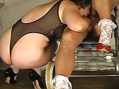 Tranny fuck mature in ...