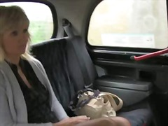 car, milf, blowjob, stockings, hairy