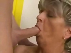 Pigtail mature granny ... video