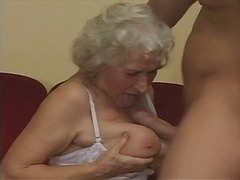 whore, granny, boy, stockings
