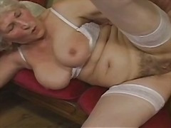 whore, mom, stockings, boy, grandma