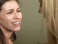 Wife seduces shy cute girl