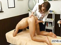 Subtitles cfnm japanese kowtow massage