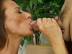 Thumb: Cum hungry mom gets he...
