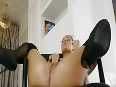Athina in stockings wa... video