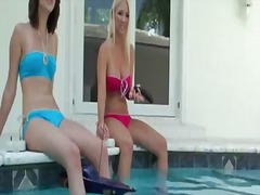 Lesbian scene with gen... video