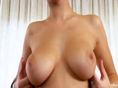 Short haired babe emylia argent showing her cunt