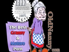 Old granny licking young pussy and fu...