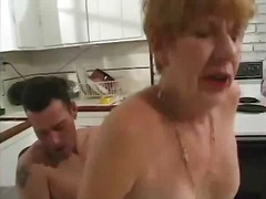 Classic granny banged ... video