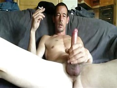 See: Mature gay guy whackin...