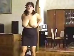 Mom strips then gets h... video
