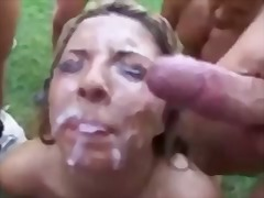Chick takes many cumsh... preview