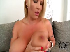 tits, solo, big, milf, big boobs