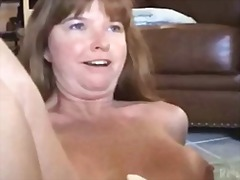 dildo, mother, strapon, busty, oral