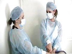 Two nurses tag-team a ...