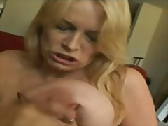facial, mother, blonde, milf