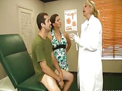 threesome, handjob, milf