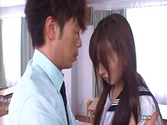 Asian teen seduces a t...
