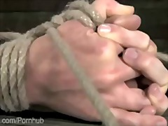 bondage, kinky, tied, bdsm, fetish, gagging, domination, flogging, blonde, pornstar