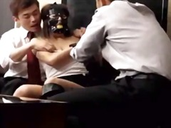 Office lady dominated ... video