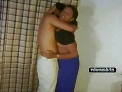 Redtube Movie:Andhra pushpa aunty sex