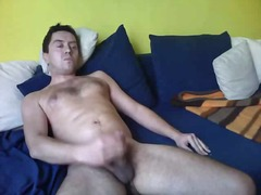 Mature stud whacking off - BoyFriendTV